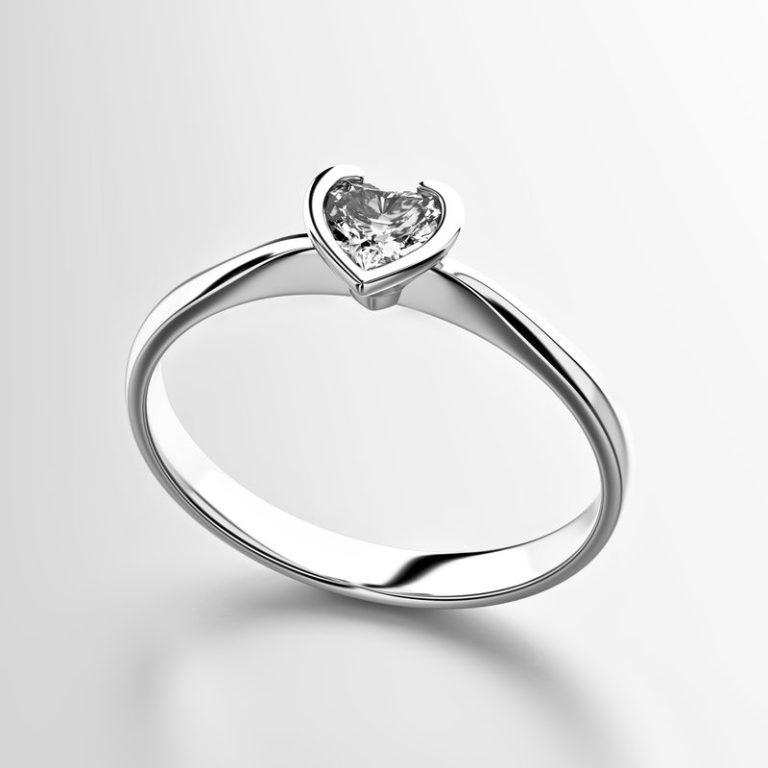 heart-shape-diamond-ring-isolated-white-background