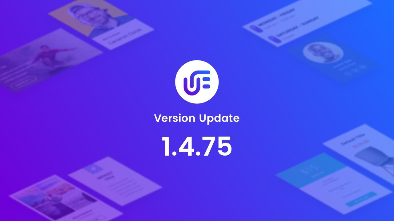 Version Update 1.4.75